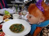 Ms Ilona LOVES a good hot soup