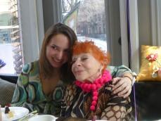 Two very dear ladies