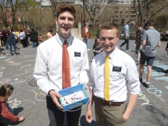 Elder STEINER and Elder Thompson