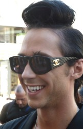 Johnny Weir...olympic skater