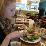 Salad AND a Burg