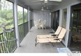 spacious terrace off the master bedroom