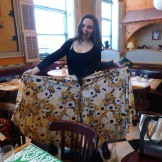Margo made her pants!