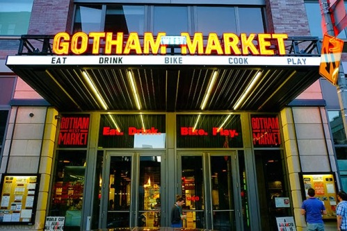 Gotham West Front Door
