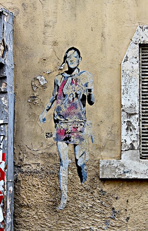 le panier graffiti