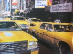 There are 36,000 taxis in the city