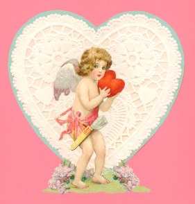 cherub-heart-on-doily