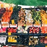 "Waterlogue 1.3.1 (72) Preset Style = Vibrant Format = 6"" (Medium) Format Margin = None Format Border = Straight Drawing = #2 Pencil Drawing Weight = Medium Drawing Detail = Medium Paint = Natural Paint Lightness = Auto Paint Intensity = More Water = Tap Water Water Edges = Medium Water Bleed = Average Brush = Natural Detail Brush Focus = Everything Brush Spacing = Narrow Paper = Watercolor Paper Texture = Medium Paper Shading = Light Options Faces = Enhance Faces"