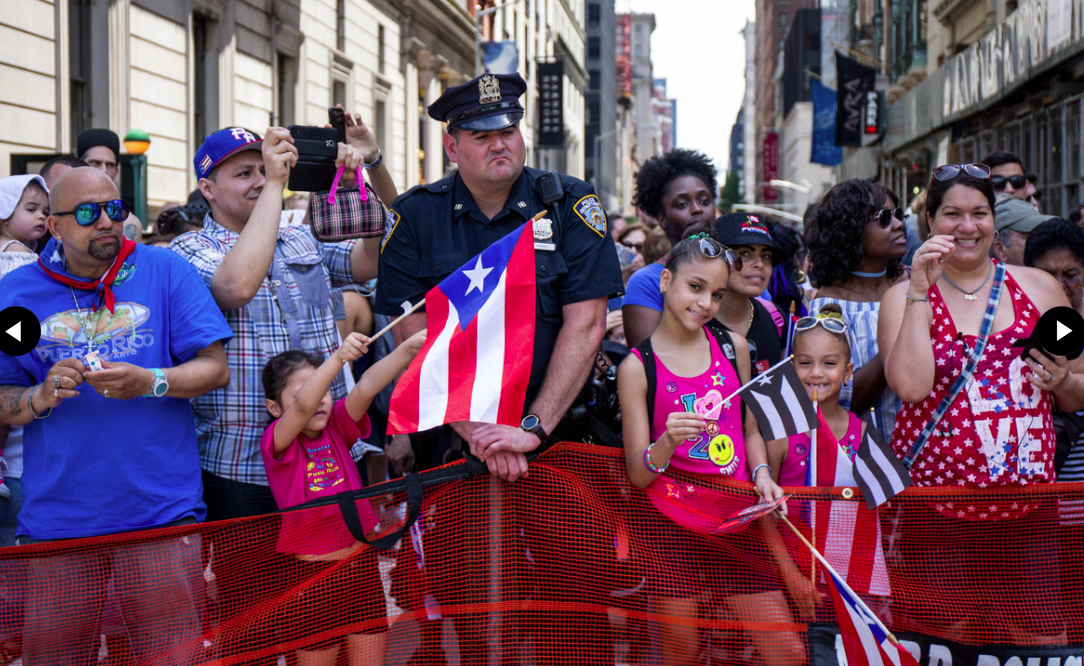 The NATIONAL PUERTO RICAN DAY PARADE • nyc 2018